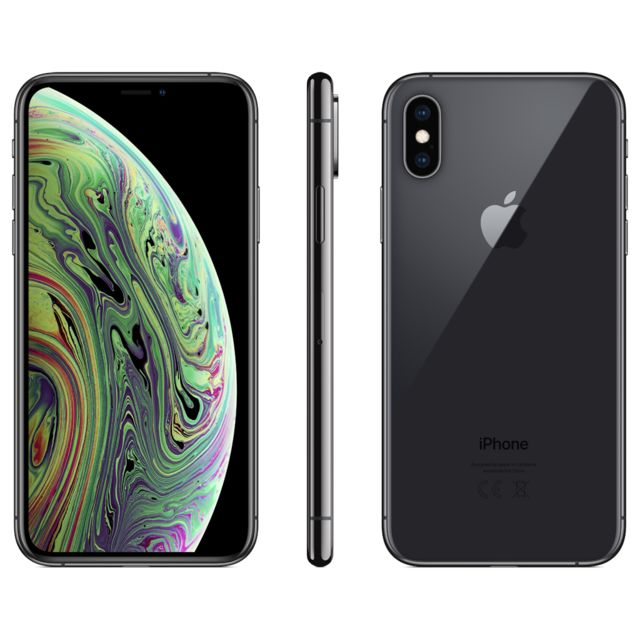 iPhone Apple iPhone XS - 256 Go - MT9H2ZD/A - Gris Sidéral