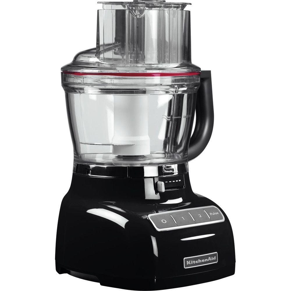 Kitchenaid robot ménager multifonction de 3,1L 300W noir onyx argent