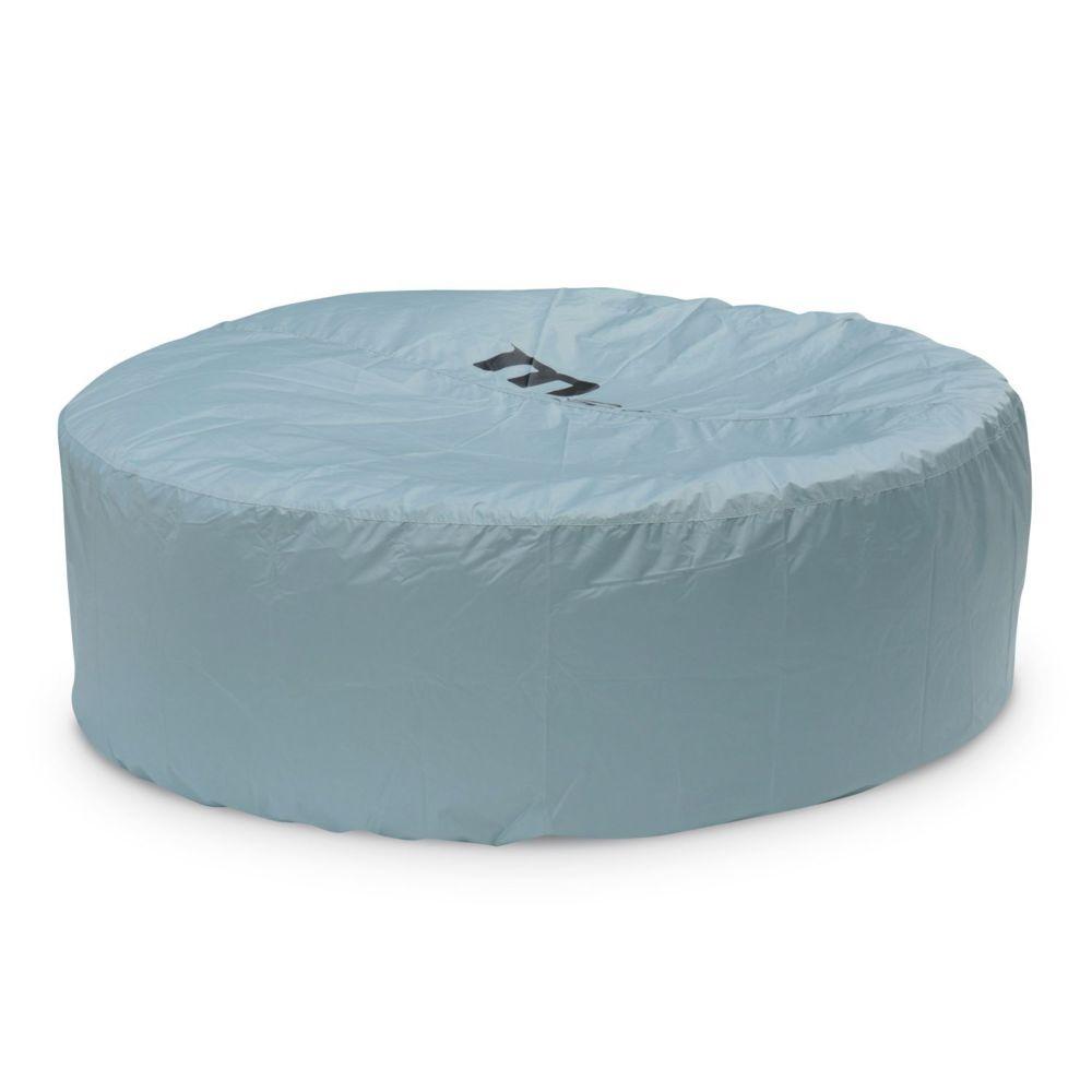 Alice'S Garden Housse de protection intégrale pour spa gonflable carré ou rond 6 personnes MSPA? Ø 215x70cm
