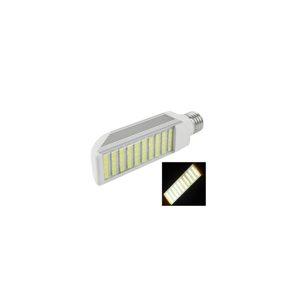 Wewoo Ampoule LED Horizontale blanc E27 12W Chaud 50 5050 SMD Transverse, AC 85V-265V