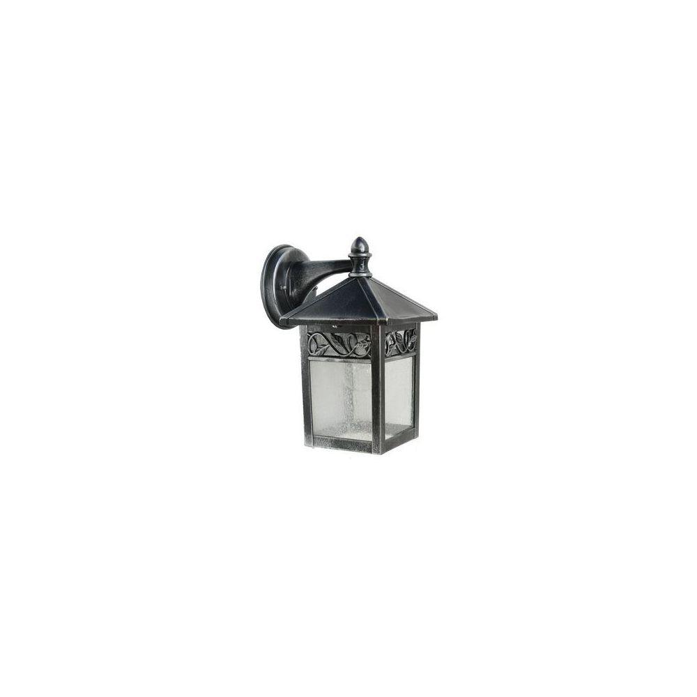 Garden Lights Applique Winchcombe 1x60W Noir argenté