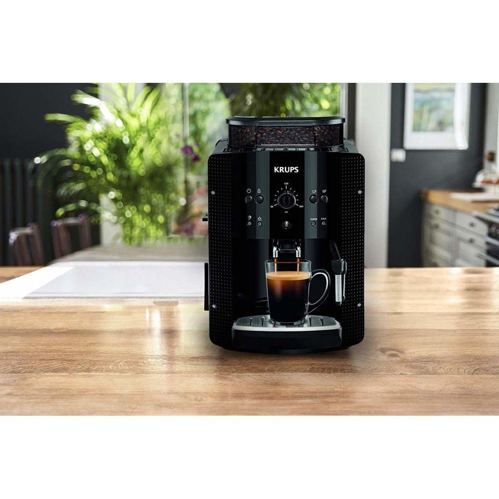 Krups machine à expresso de 1,7L avec broyeur 1450W noir