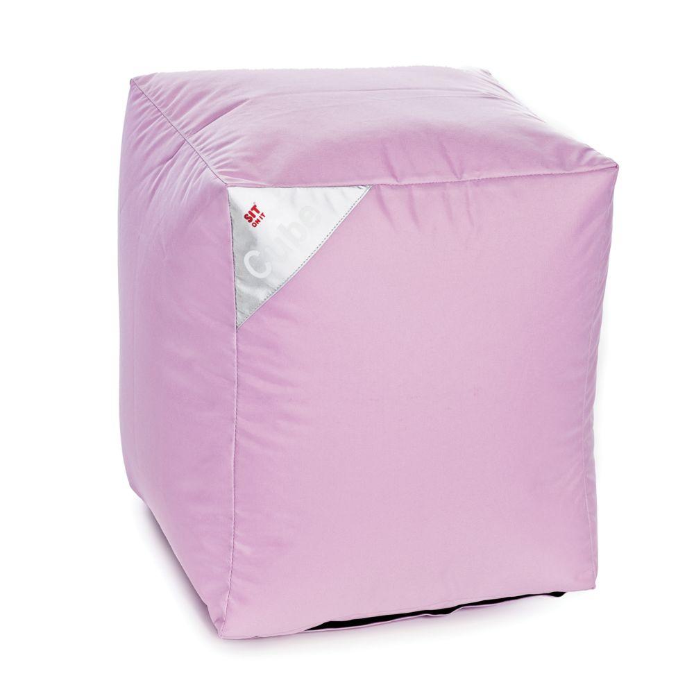 Rendez Vous Deco Pouf Cube rose