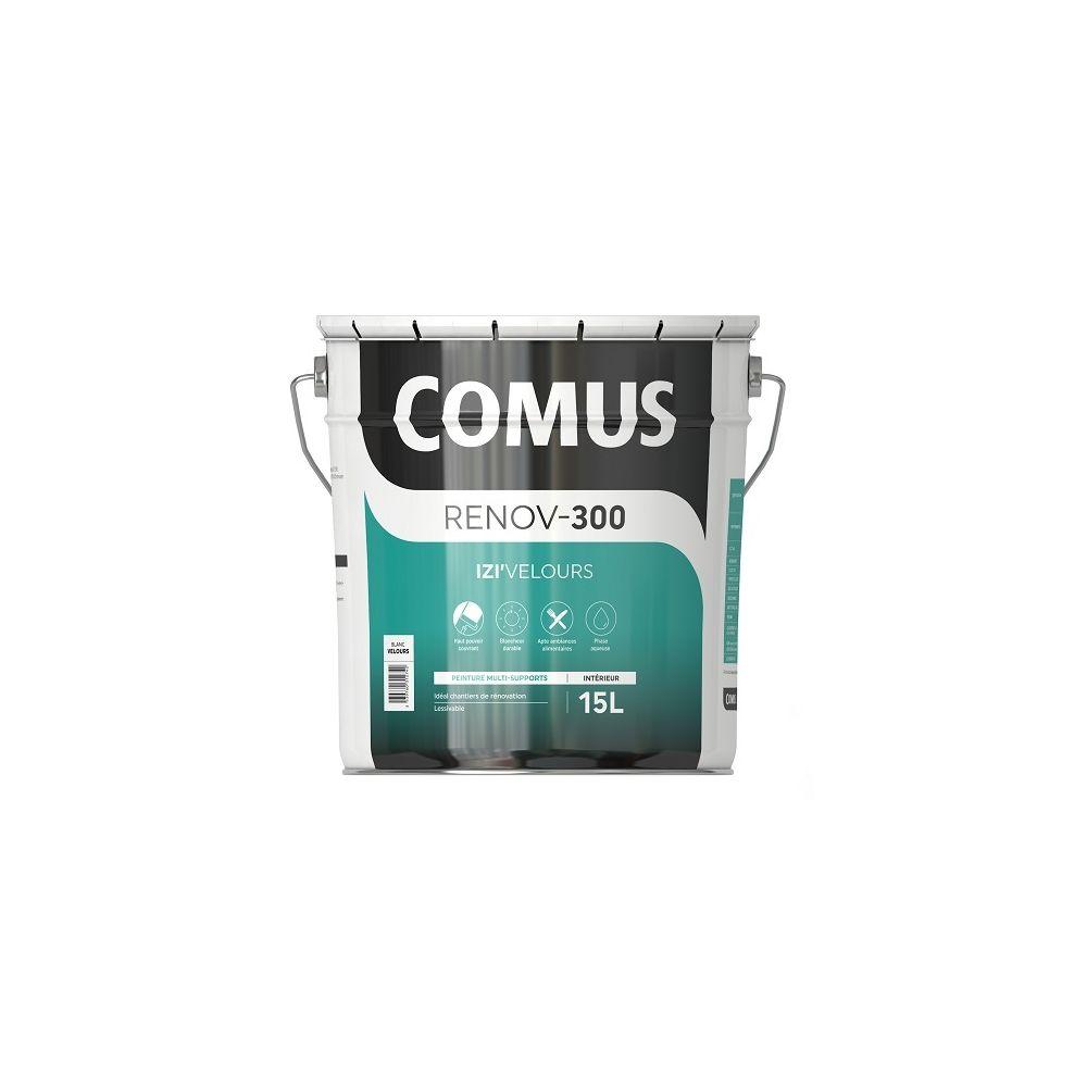 Comus IZI'VELOURS 15L - Peinture acrylique d'aspect velours en phase aqueuse - COMUS