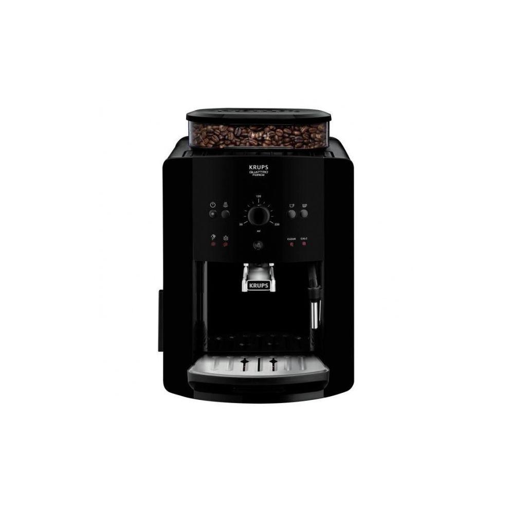 Krups Machine à expresso avec broyeur Krups EA8110,1450 W, Noir