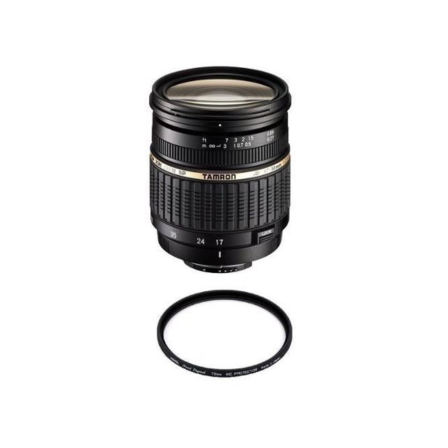 Tamron - TAMRON SP 17-50mm F2.8 XR Di II LD Aspherical IF (A16S) Sony + HOYA 72mm PRO 1D Protector - Tamron