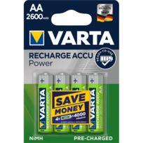 Varta Energy Lot de 24 Piles alcalines AA Mignon Mircor AAA 30er Pack Bleu