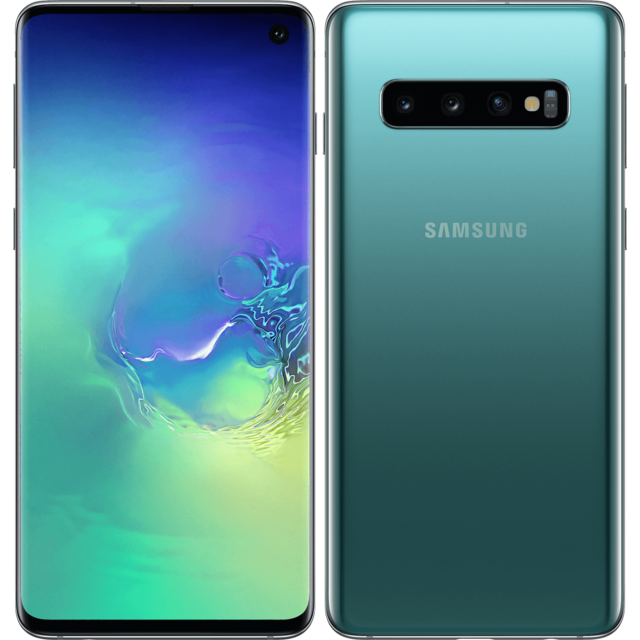 Samsung - Galaxy S10 - 128 Go - Vert - Bonnes affaires Smartphone Android