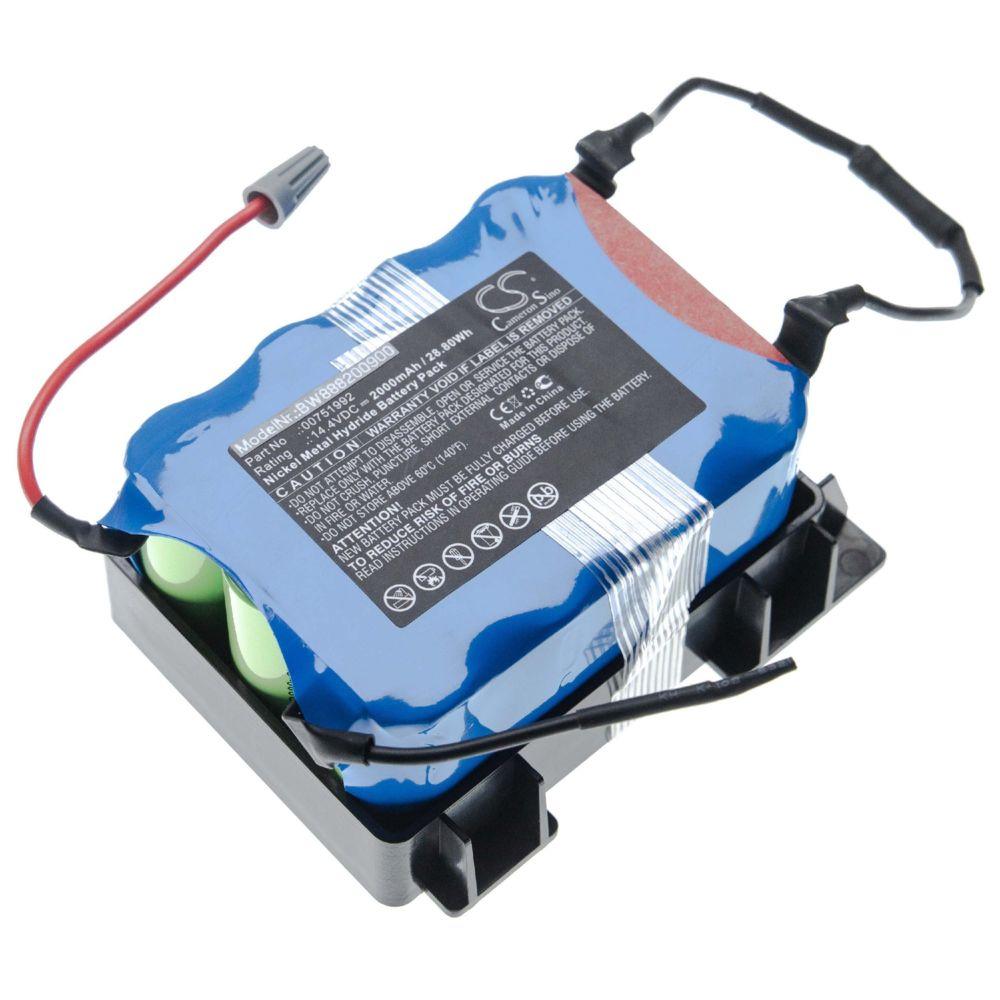 Vhbw vhbw batterie compatible avec Bosch BBHMOVE2/01, BBHMOVE2/03, BBHMOVE2/04, BBHMOVE201 aspirateur Home Cleaner (2000mAh,
