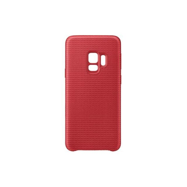 Samsung - Coque Hyperknit Galaxy S9 - Rouge - Accessoire Smartphone