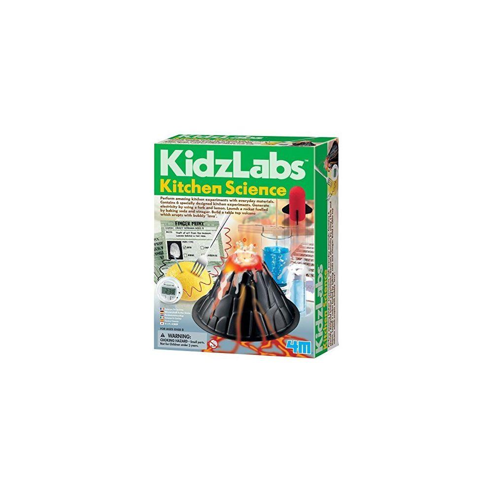 4M 4M Kitchen Science Kit - DIY Chemistry Experiment Lab Stem Toys Gift for Kids & Teens Boys & Girls