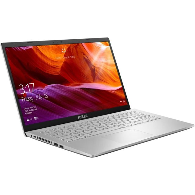 Asus - S509DA-EJ755T - Gris - PC Portable