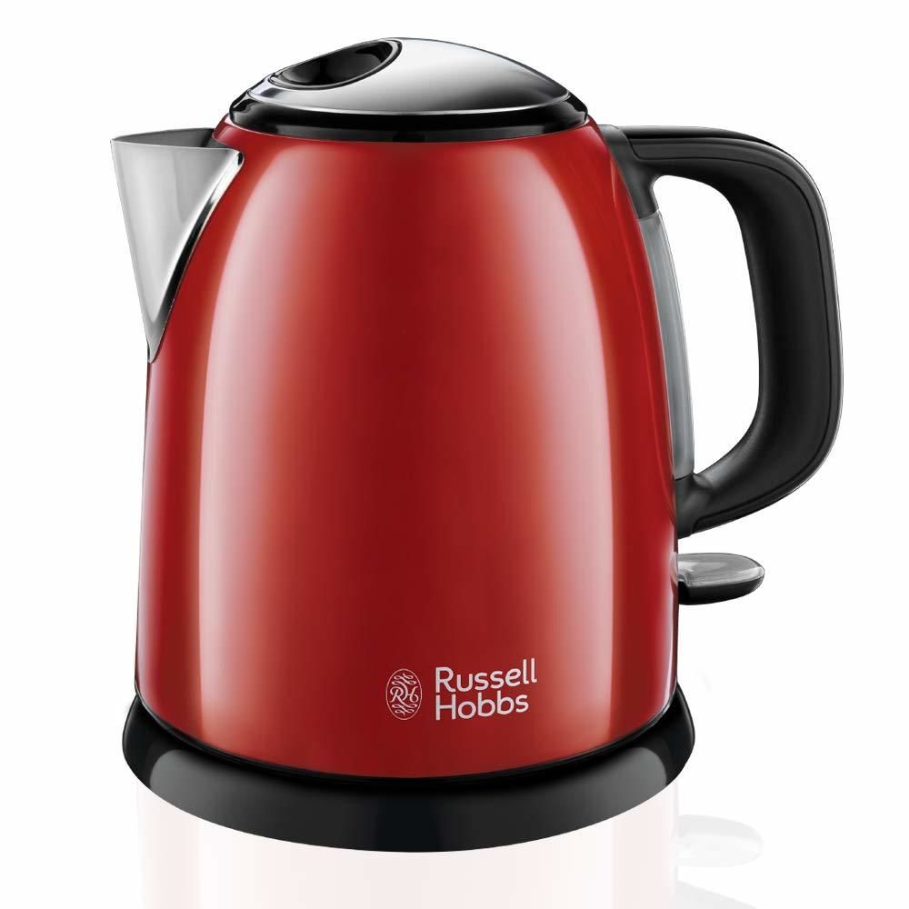 Russell Hobbs russell hobbs - bouilloire sans fil 1l 2400w rouge - 24992-70