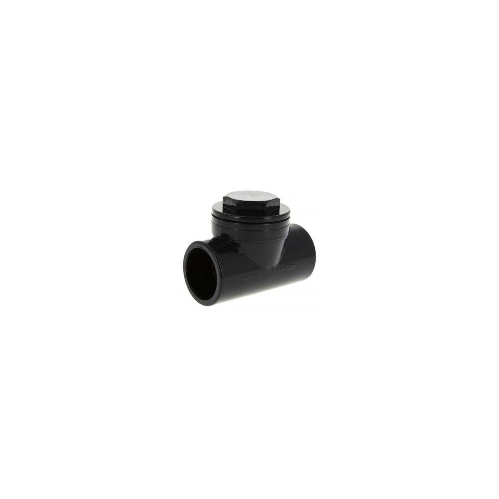 Nicoll Clapet anti-retour PVC Pression - CARH - anthracite - Ø 40 mm