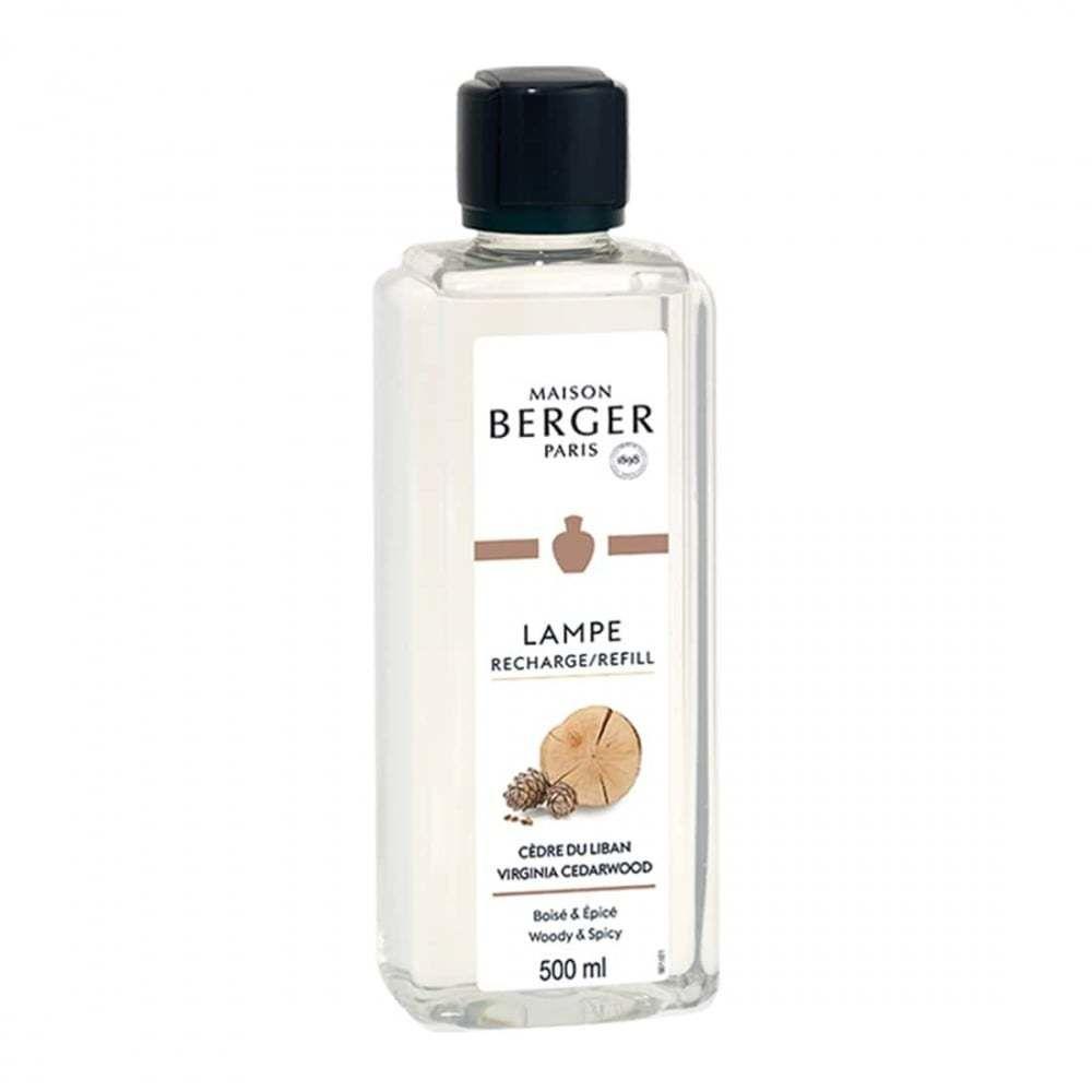 Lampe Berger parfum maison lampe berger cèdre du liban
