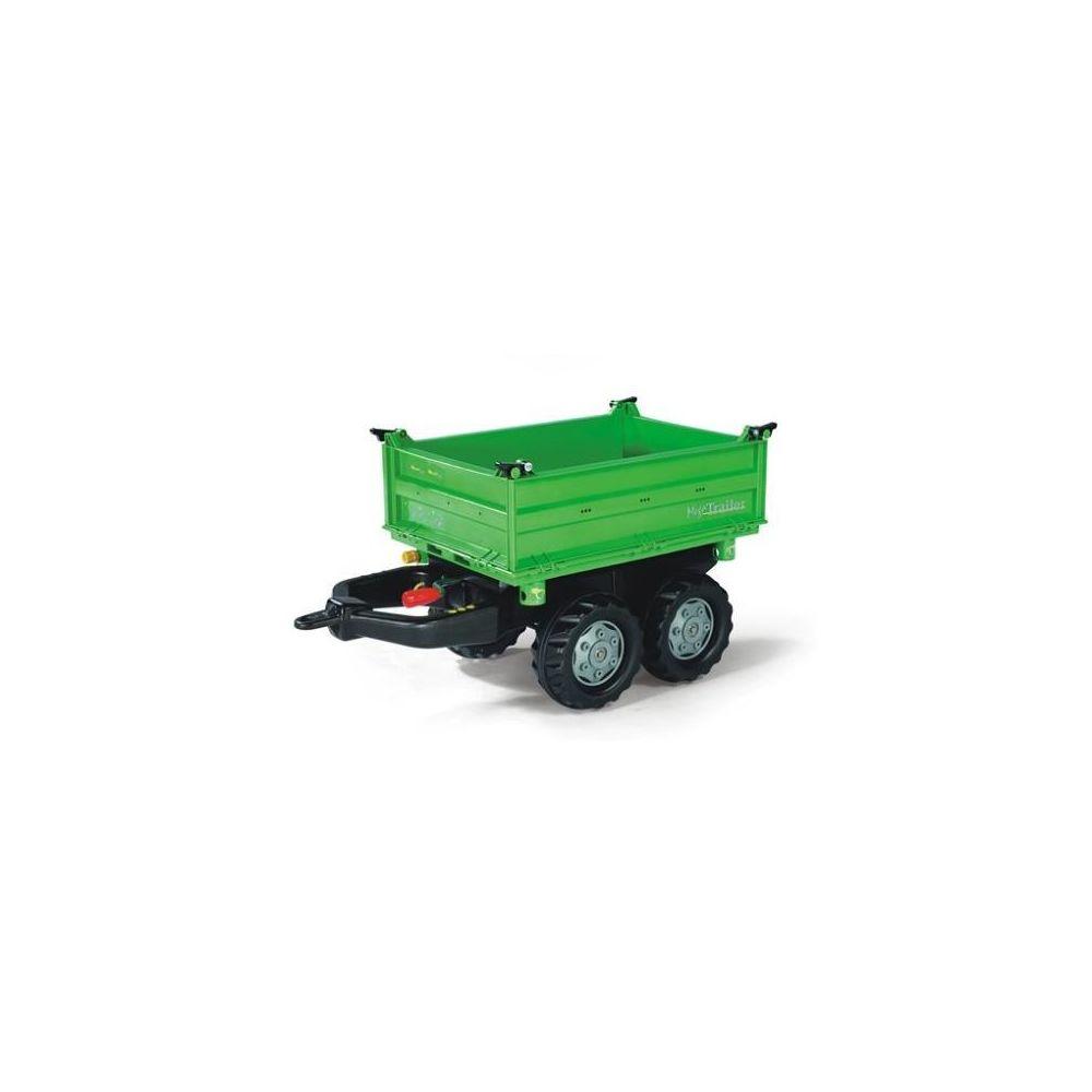 Rolly Toys Rolly Toys 121502 Mega Trailer, remorque pour tracteurs à pédales