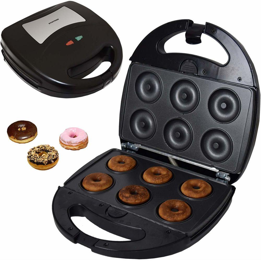 Syntrox Germany machine a Donut avec plaques de cuisson interchangeables 1300W