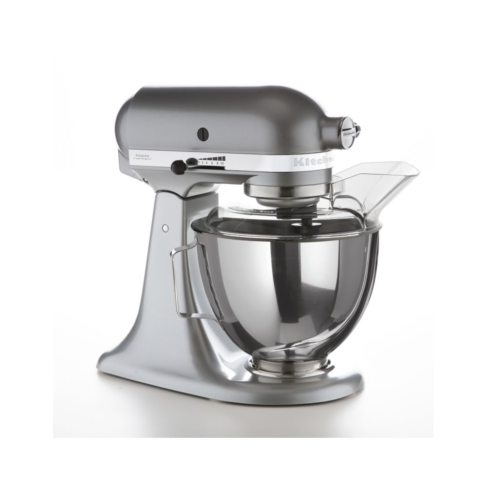 Kitchenaid kitchenaid - robot pâtissier multifonction 4,3l 300w silver - 5ksm095psecu