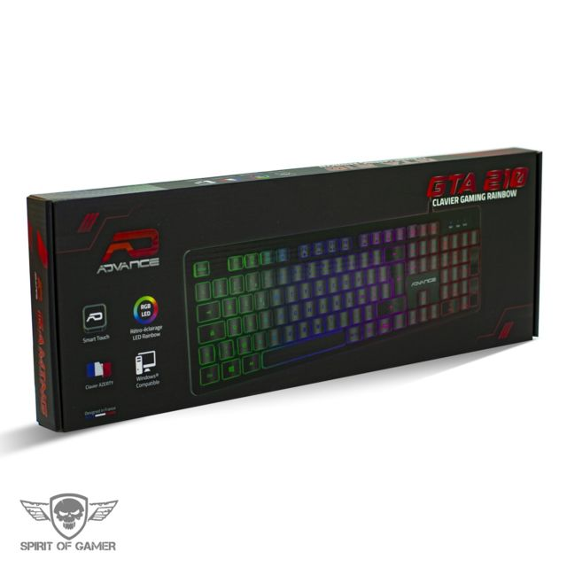 Clavier Spirit Of Gamer
