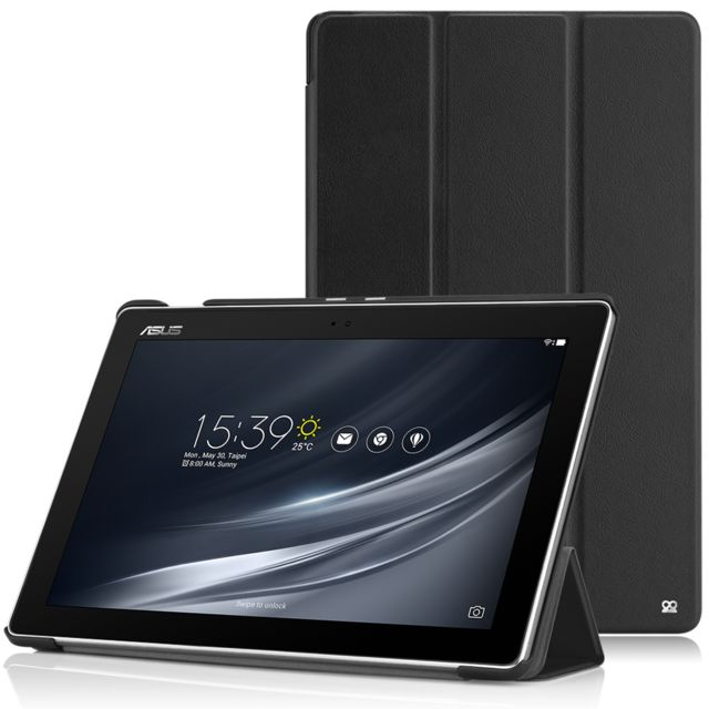 Ibroz - Folio Smart Cover Zenpad Z300/Z301 - Noir - Housse, étui tablette