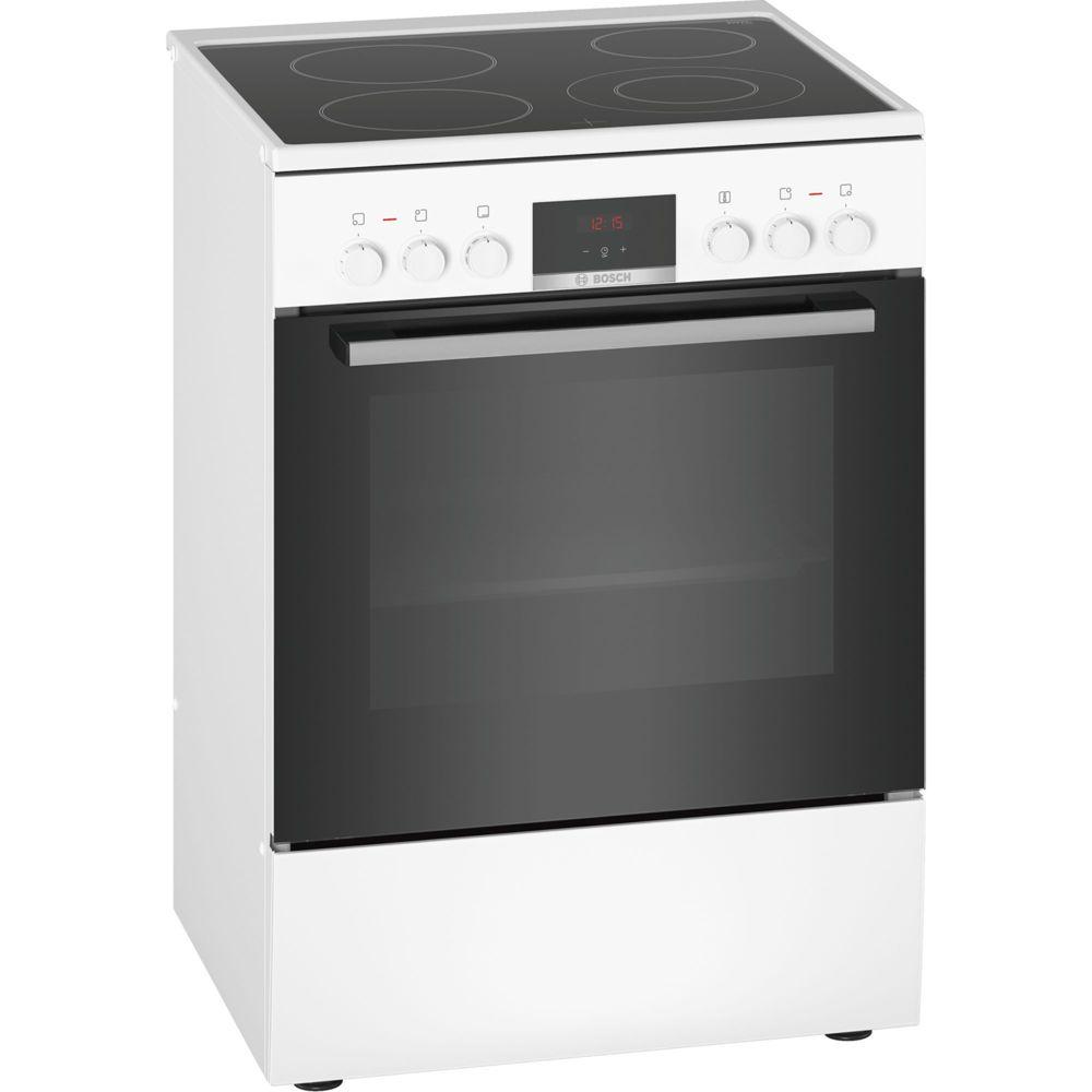 Bosch bosch - cuisinière électrique 66l 4 feux blanc - hkr39i120