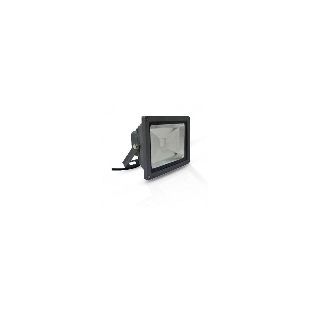 Vision-El Projecteur Exterieur LED Gris 20W RGB IR