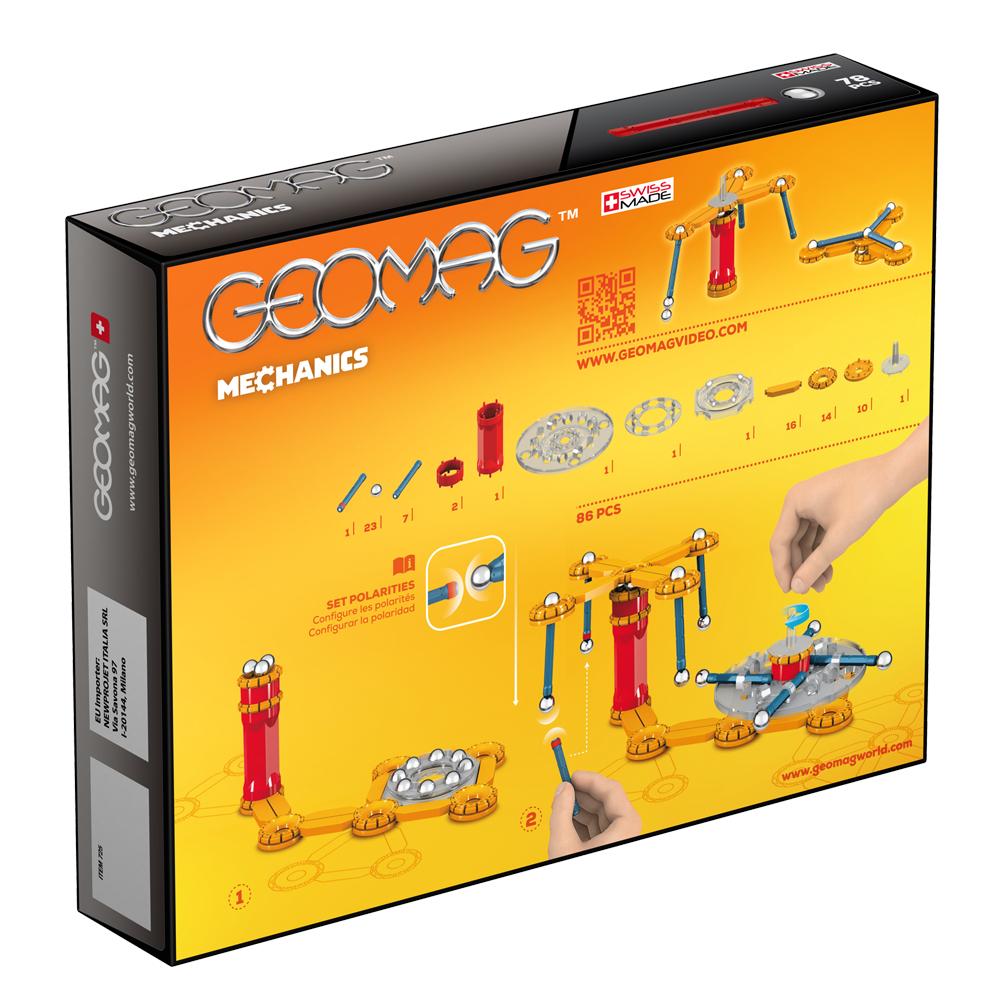 Geomag GEOMAG Mechanics - 78 pcs - GME01