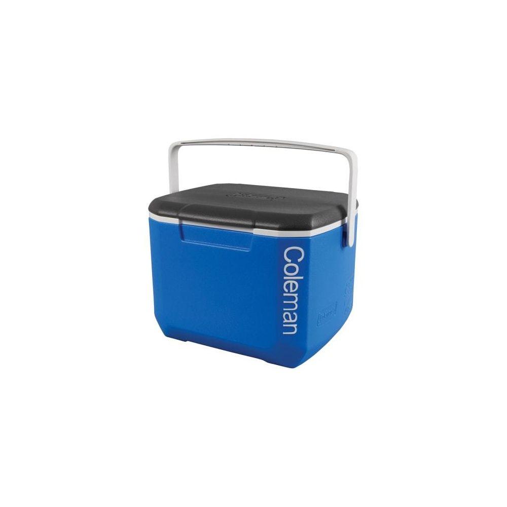 Coleman Glacière portable Coleman 16QT Excursion Cooler 15L noir bleu