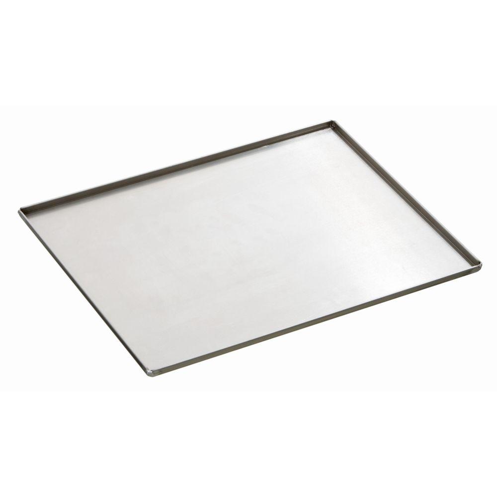 Bartscher Plaque four a 4 bordures laterales epaisseur 1,5 mm