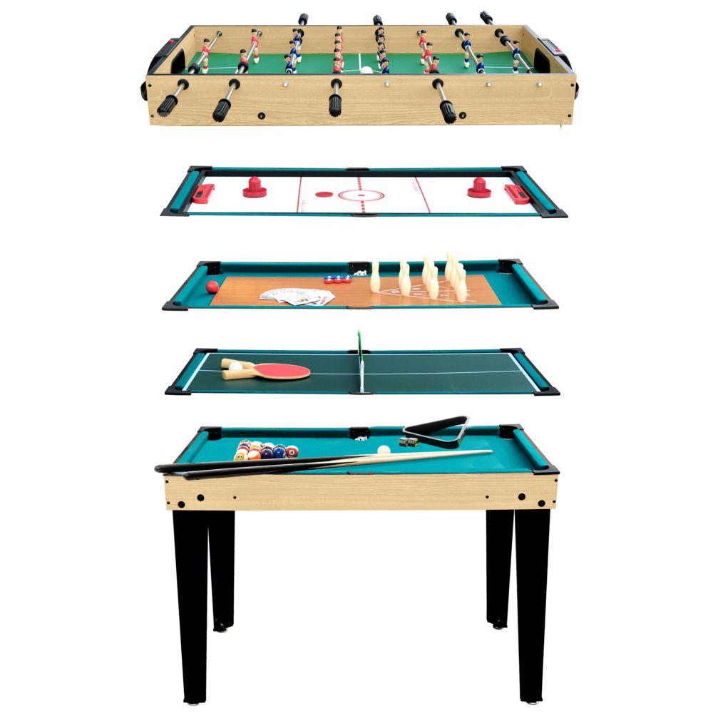 Rendez Vous Deco Table multi-jeux 10 en 1