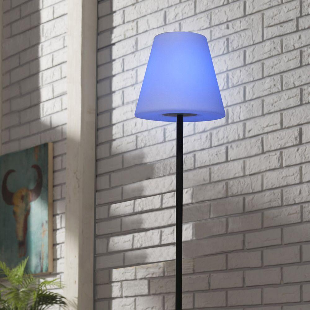 Cemonjardin Lampadaire solaire extérieur LED