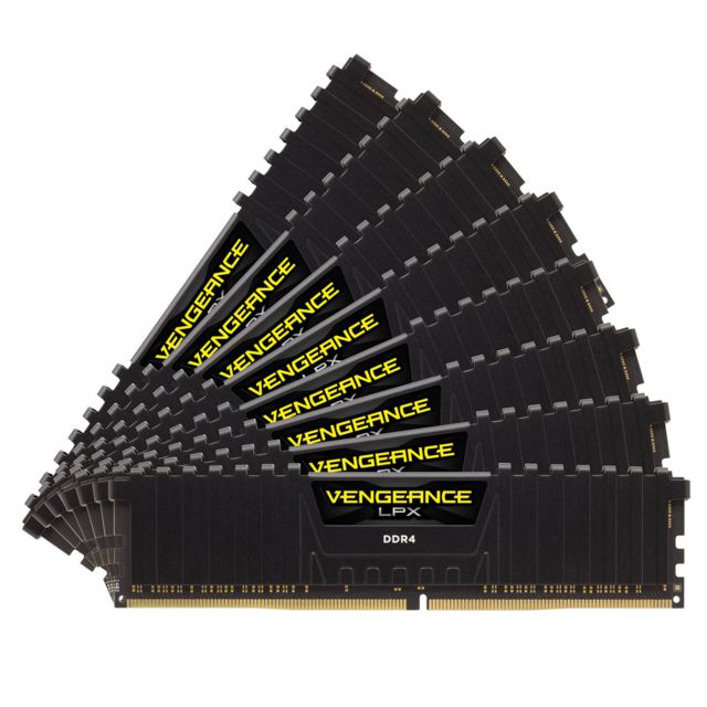 Corsair - CORSAIR Vengeance LPX Series Low Profile 64 Go (8x 8 Go) DDR4 4133 MHz CL19 - RAM PC