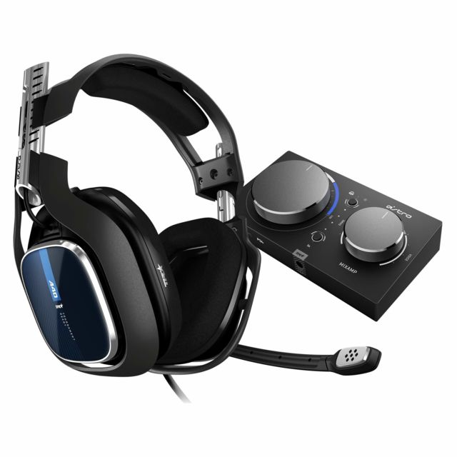 Astro Gaming - Astro Gaming Casque gamer A40 TR + MixAmp Pro PS4/PC - Micro-Casque