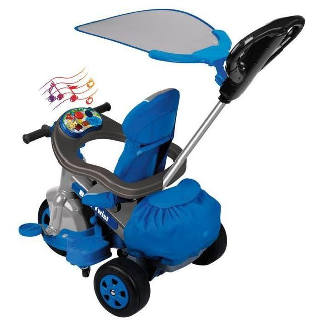 Feber Tricycle Baby twist 360 bleu - 800009780