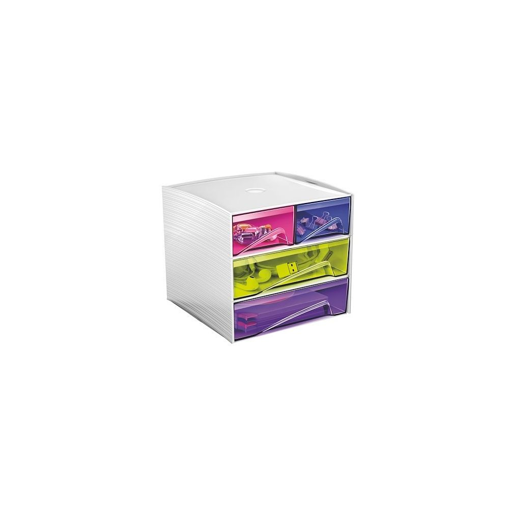 Cep Mini module de rangement plastique Cep My Cube multicolore