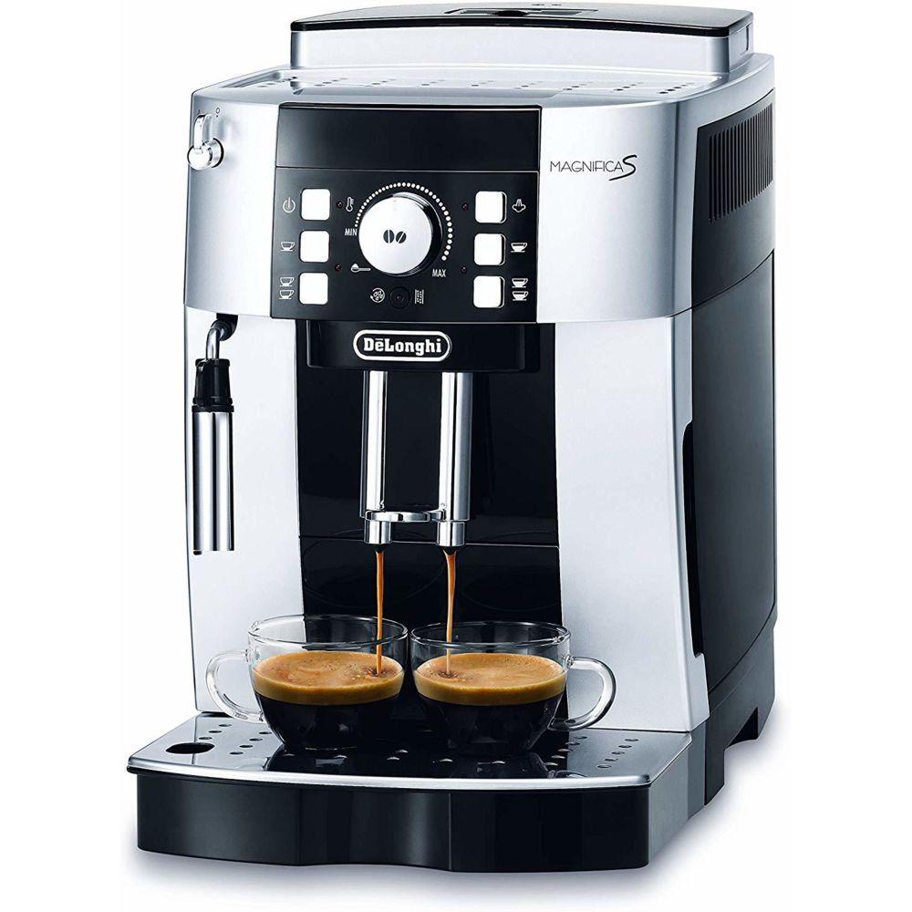 Delonghi Machine à café automatique de 1,8L 1450W argent noir