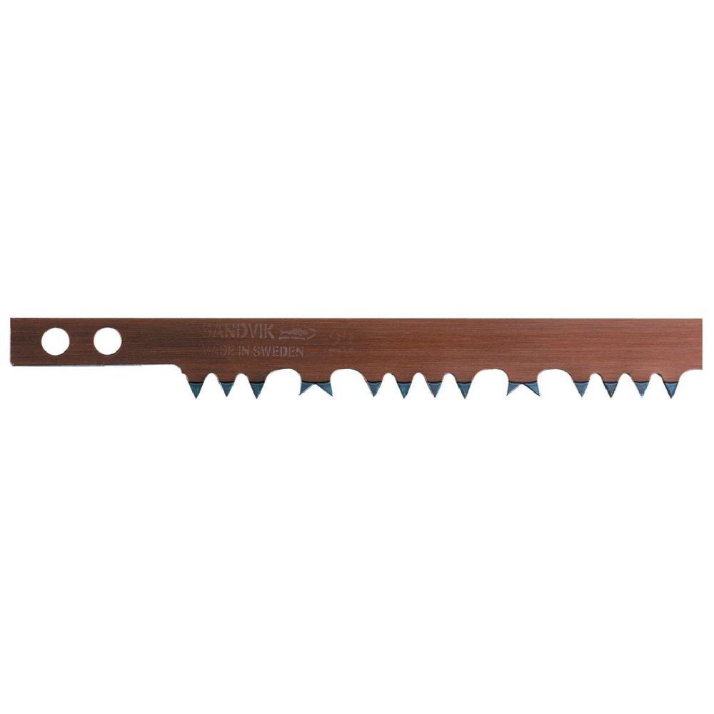 Bahco Lame de scie à bûches acier suédois Bahco pour bois vert L81cm