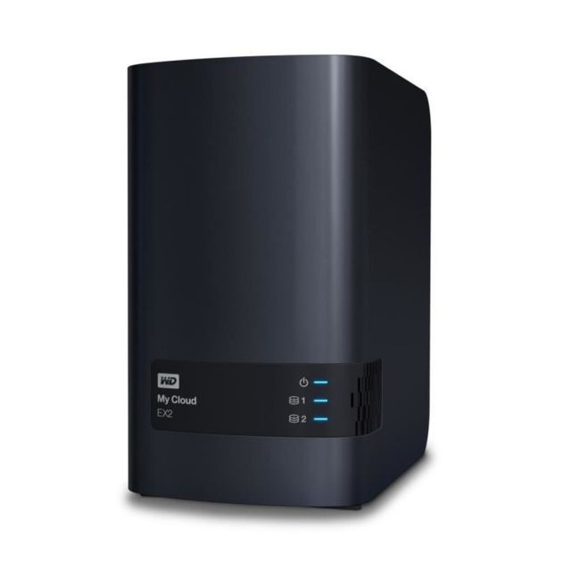 "Western Digital - WD NAS My Cloud EX2 Ultra 8To 3,5"""" Western Digital   - Reseaux Western Digital"