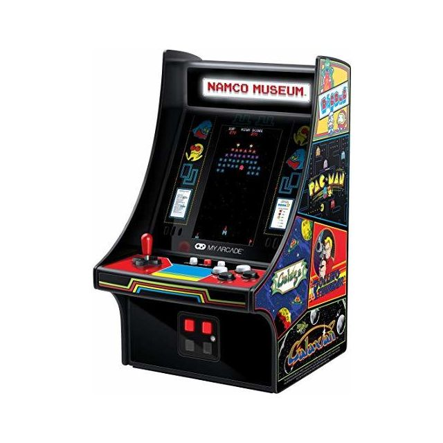 My Arcade -My Arcade Mini Player 10 Inch Arcade Machine 20 Built In Games Fully Playable Pac-Man Galaga Mappy and More 425 Inch Color Display Speakers Volume Controls Headphone Jack Micro USB Powered My Arcade  - My Arcade