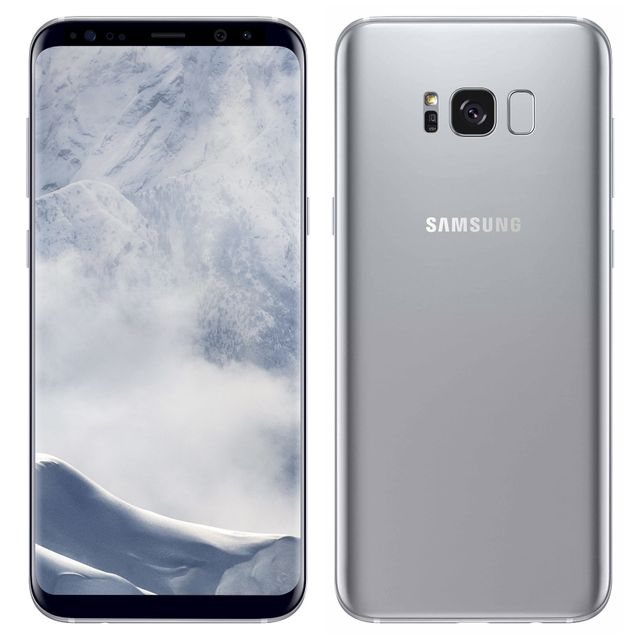 Samsung -Galaxy S8 Plus - 64 Go - Argent Polaire Samsung  - Smartphone Android 64 go