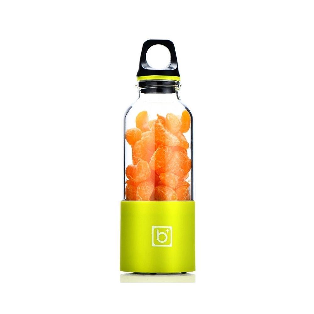 Wewoo 500 ml Mini USB Portable vert Rechargeable Électrique Juicer Coupe Presse-Agrumes Blender, 22000 Révolutions Par Minute