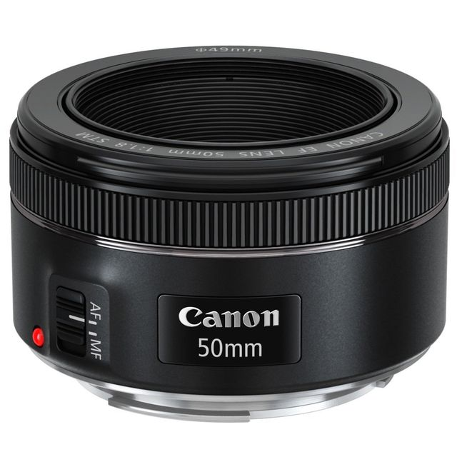 Canon - Objectif Canon EF 50mm f/1.8 STM - Objectifs