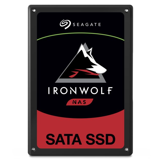 Seagate - IronWolf 110 1.9 To 2.5 SATA III (6 Gb/s) - SSD 2,5'' SATA