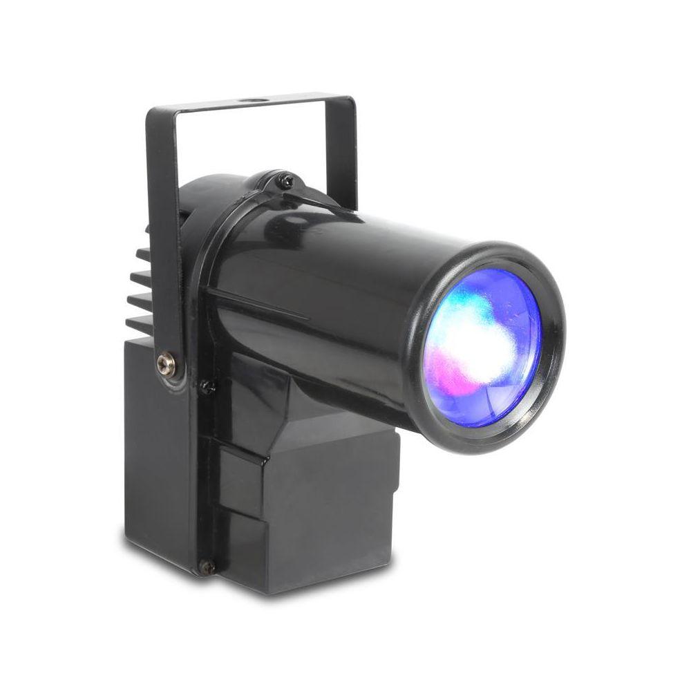 Beamz beamZ PS10W projecteur à spot 10W 4 en 1 - LED RVBB DMX BeamZ
