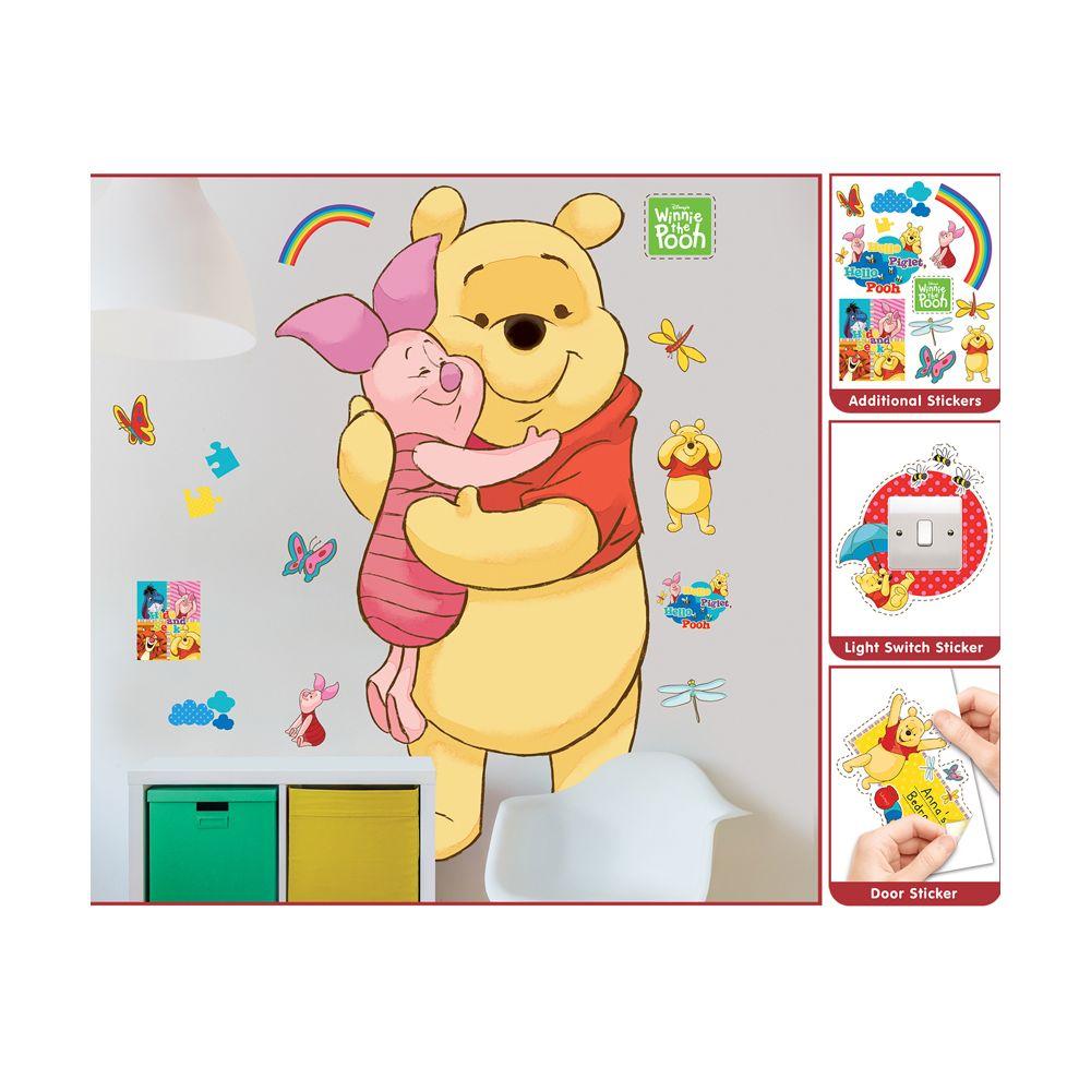 Walltastic Sticker géant Winnie l'Ourson Disney