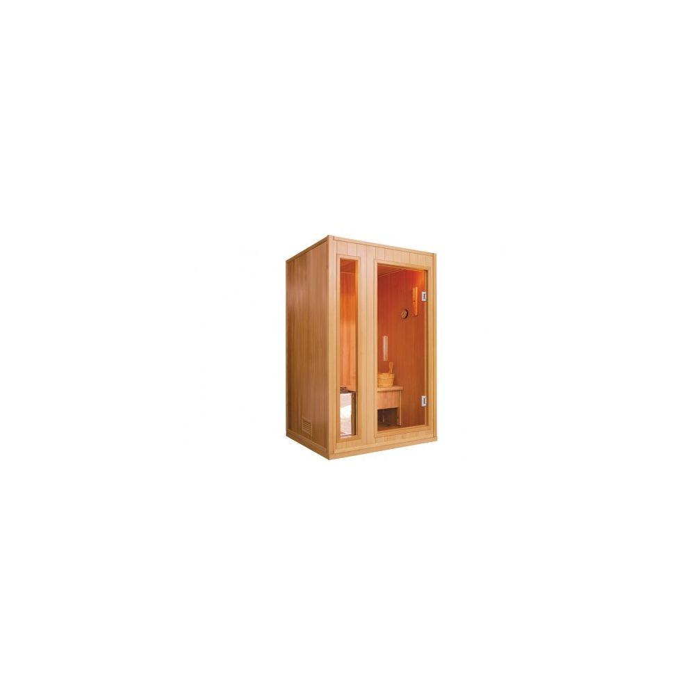 Vogue Sauna Sauna Traditionnel Finlandais 2 places Gamme prestige MALMÖ II - L120*P105*H190 cm