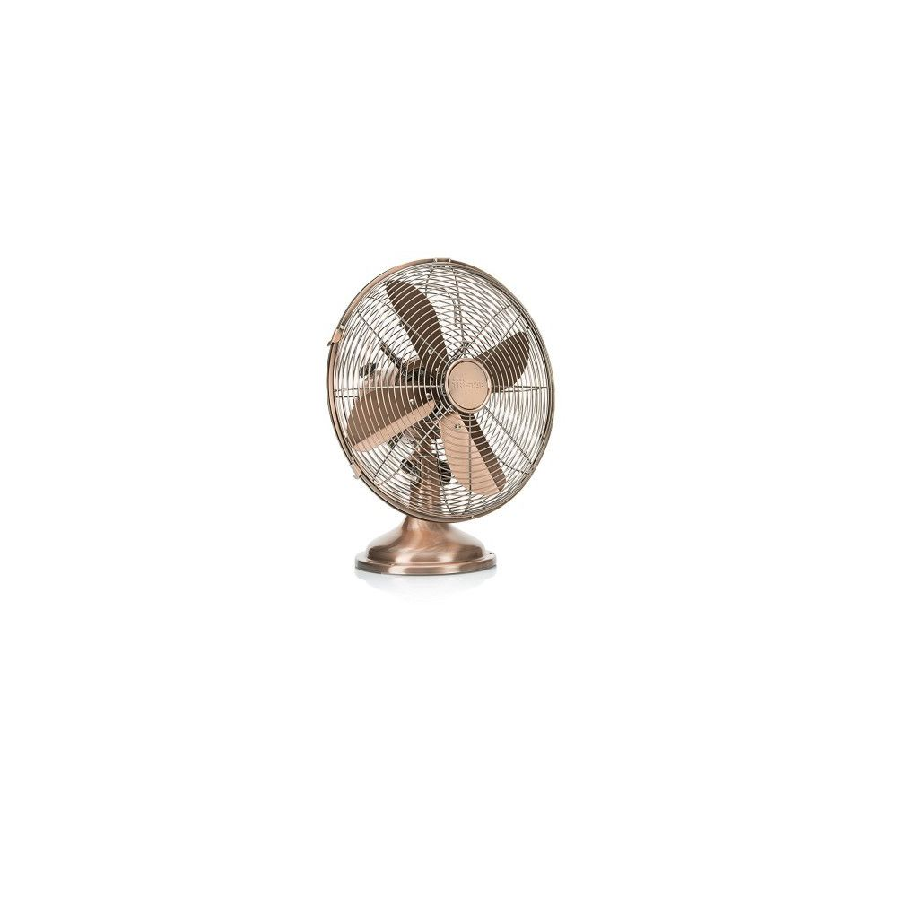 Tristar TRISTAR Ventilateur de Table 30 cm Style rétro Cuivre VE5970