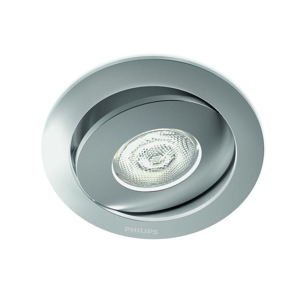Philips 591804816 - Spot Encastrable Led Asterope - Aluminium