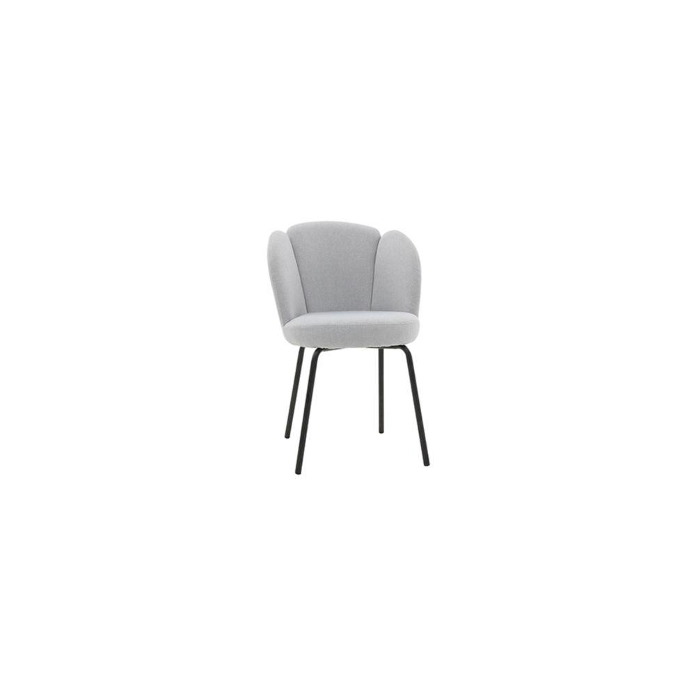 Miliboo - Chaise design en tissu gris clair FLOS - Chaises - Rue