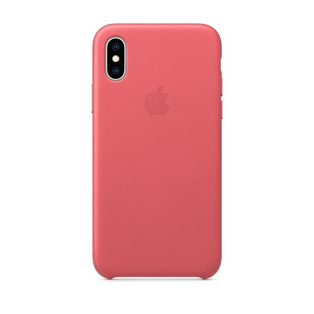 Apple - iPhone XS Max Leather Case - Rose Pivoine - Accessoire Smartphone Iphone xs max